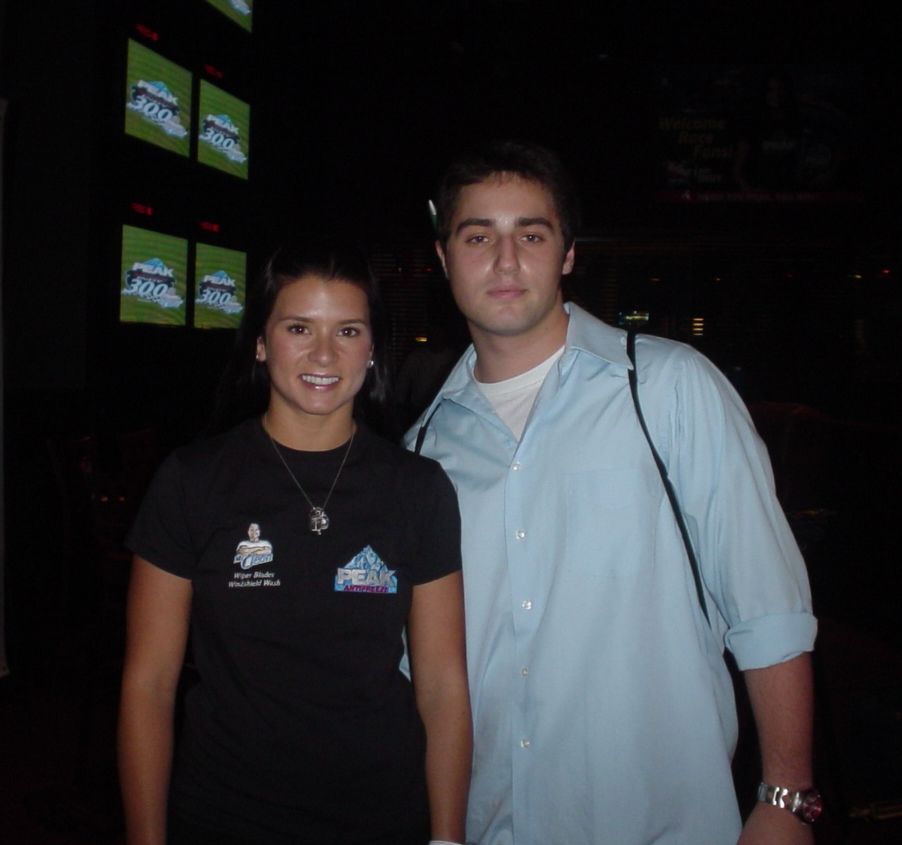 2006: When Danica Patrick was an obsession. (That pen behind my right ear looks ridiculous.)