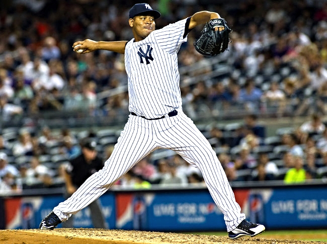 "The New York Times    Yankees' Nova Acting and Pitching Like a King of the Mound   Ivan Nova is channeling his spirit animal. ""I have to be a león,"" he is telling himself these days. Be a lion. He says this to jump-start himself before a game, to sharpen the movement on his recently devastating sinking fastball or to shake off a mistake pitch when he has the next batter to attack. Since being removed as a starter in late April, he has pitched 271/3 innings with a 2.63 E.R.A. in three relief appearances and two starts."