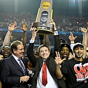 MensJournal.com   How Rick Pitino Recruits  After winning a title and being inducted into the Hall of Fame this year, Louisville coach Rick Pitino doesn't have much left to prove. As he enters his 40th season of coaching, he credits his success to one simple fact: He knows how to spot talent.