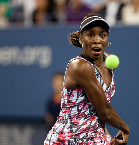 The New York Times    Venus Williams Is Eliminated in Second Round  Kim Clijsters's singles career is over, Andy Roddick will retire after the United States Open and fans lost another Open darling early Friday morning when Venus Williams fell to Angelique Kerber of Germany, 6-2, 5-7, 7-5.