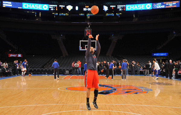 """The New York Times   The 10-Day N.B.A. Contract: A Call-Up's Tiny Window to Impress  Andre Emmett was shooting jumpers in an empty arena at the edge of Nevada when the N.B.A. came calling two weeks ago. Practice had ended for the Reno Bighorns of the N.B.A. Development League, but Emmett, 29, had retreated to his """"comfort area,"""" the court, a source of salvation and frustration for him. He was nearly seven years removed from his last N.B.A. game, and now the Nets were making him an offer: a contract for 10 days."""