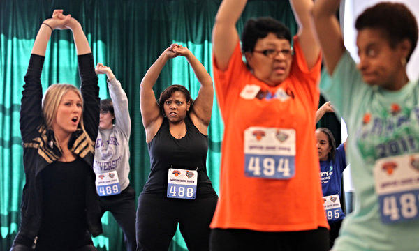 The New York Times   Courtside Troupe Seeks Dancers Who Defy Age and Other Stereotypes  As she stood in front of a dance studio mirror, Shirley Koehler struggled to keep up with a barrage of instructions from the choreographer: spin and stomp, twirl, nod and flex. And finally, slap your backside.