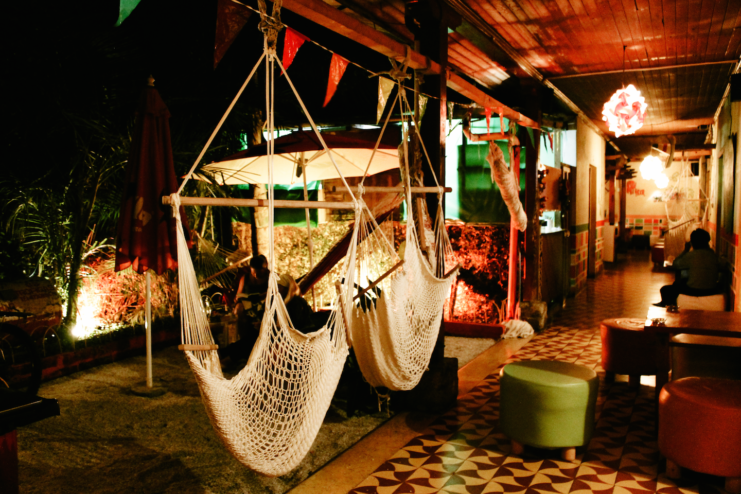 Jungle Party Hostel In Antigua.