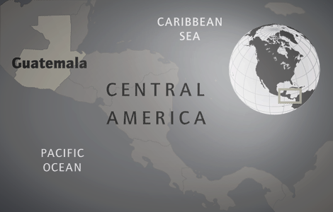 guatemala map budget travel guide