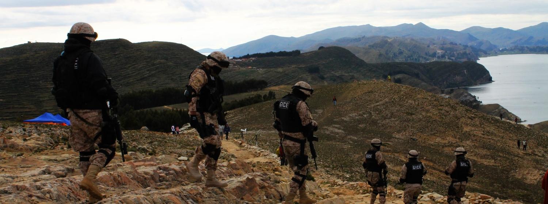 bolivia police isla del sol guide travel lake titicaca evo morales