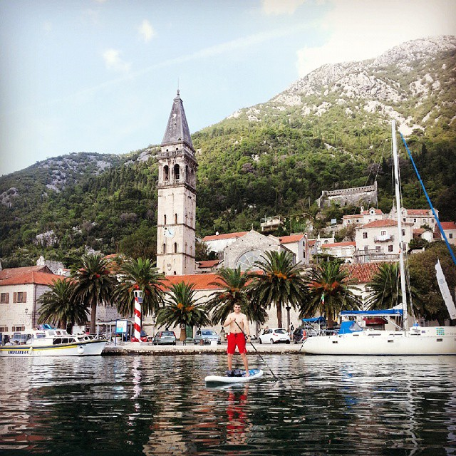 andy sup montenegro explore bay of kotor travel guide