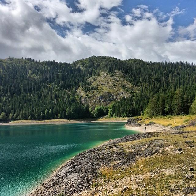 black lake small side montenegro travel guide