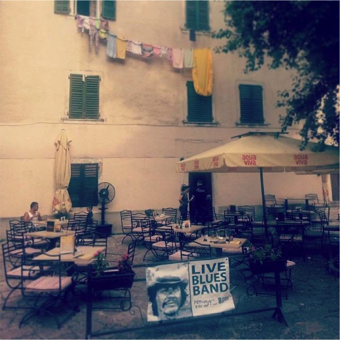 A classic restaurant in the wonderfully untouristed part of the old walled city in Kotor.