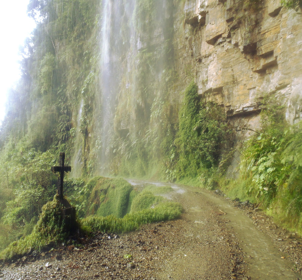 dangerous road bolivia cross travel guide