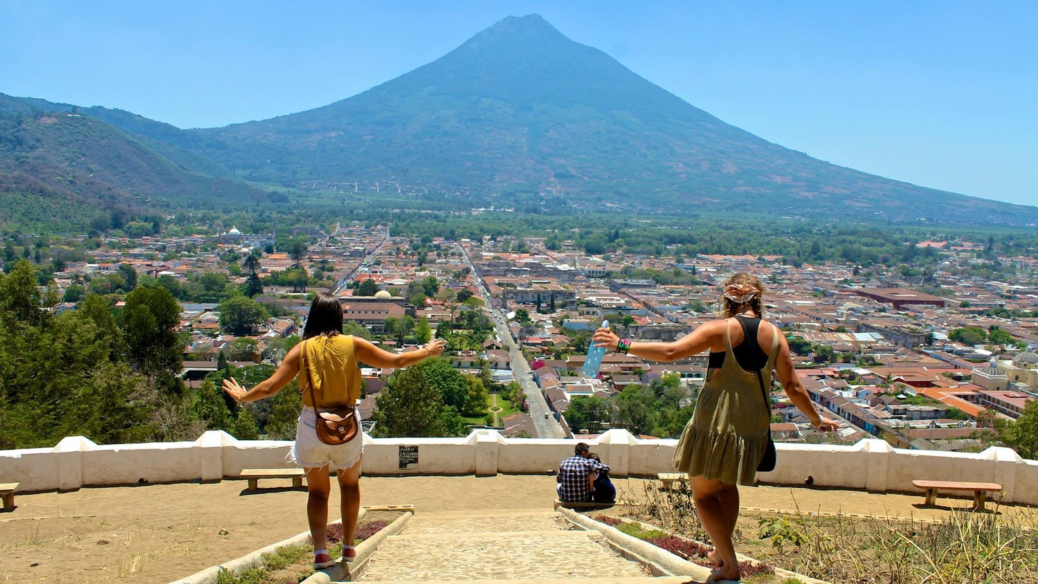 guatemala antigua volcano run budget travel destinations backpackers