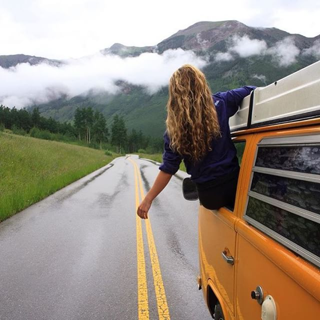 Because @idletheorybus perfectly captures the #vanlife mood #homeiswhereyouparkit #THINKLESSTRAVELMORE