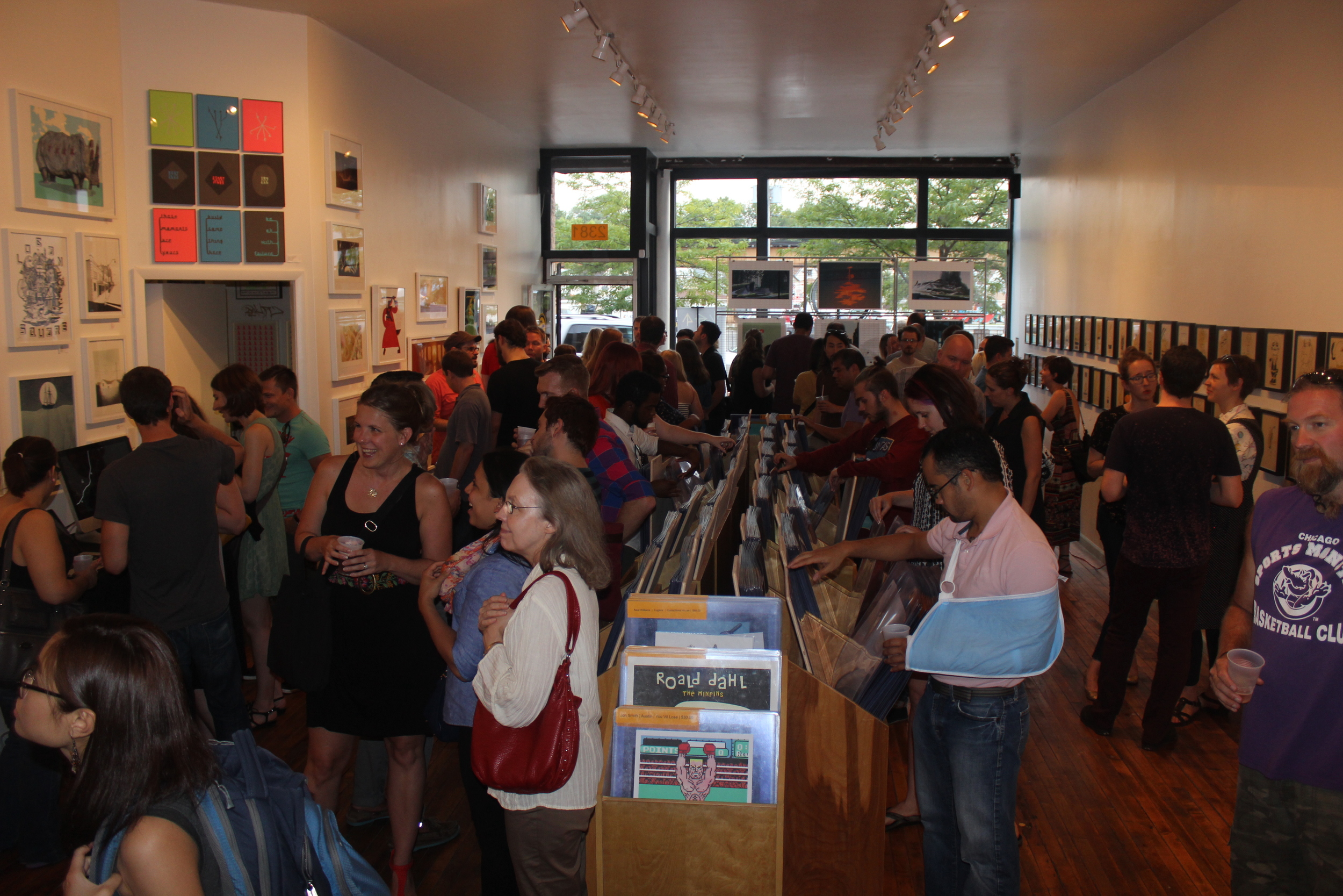 VGA Gallery Launch party Friday, August 8th, 2014