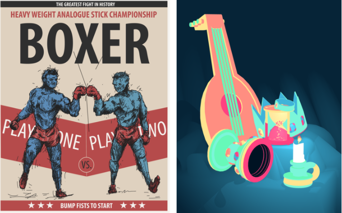 Boxer by Ben Crooks and Vignettes by Pol Clarissou