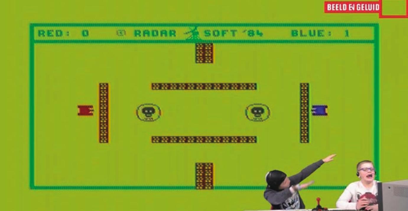 "Fig. 1.0. Screenshot from YouTube video ""20-11-2016 Let's Play 62,"" Channel Let's Play @ Beeld en Geluid, https://youtu.be/5VMBR0eHI6s."