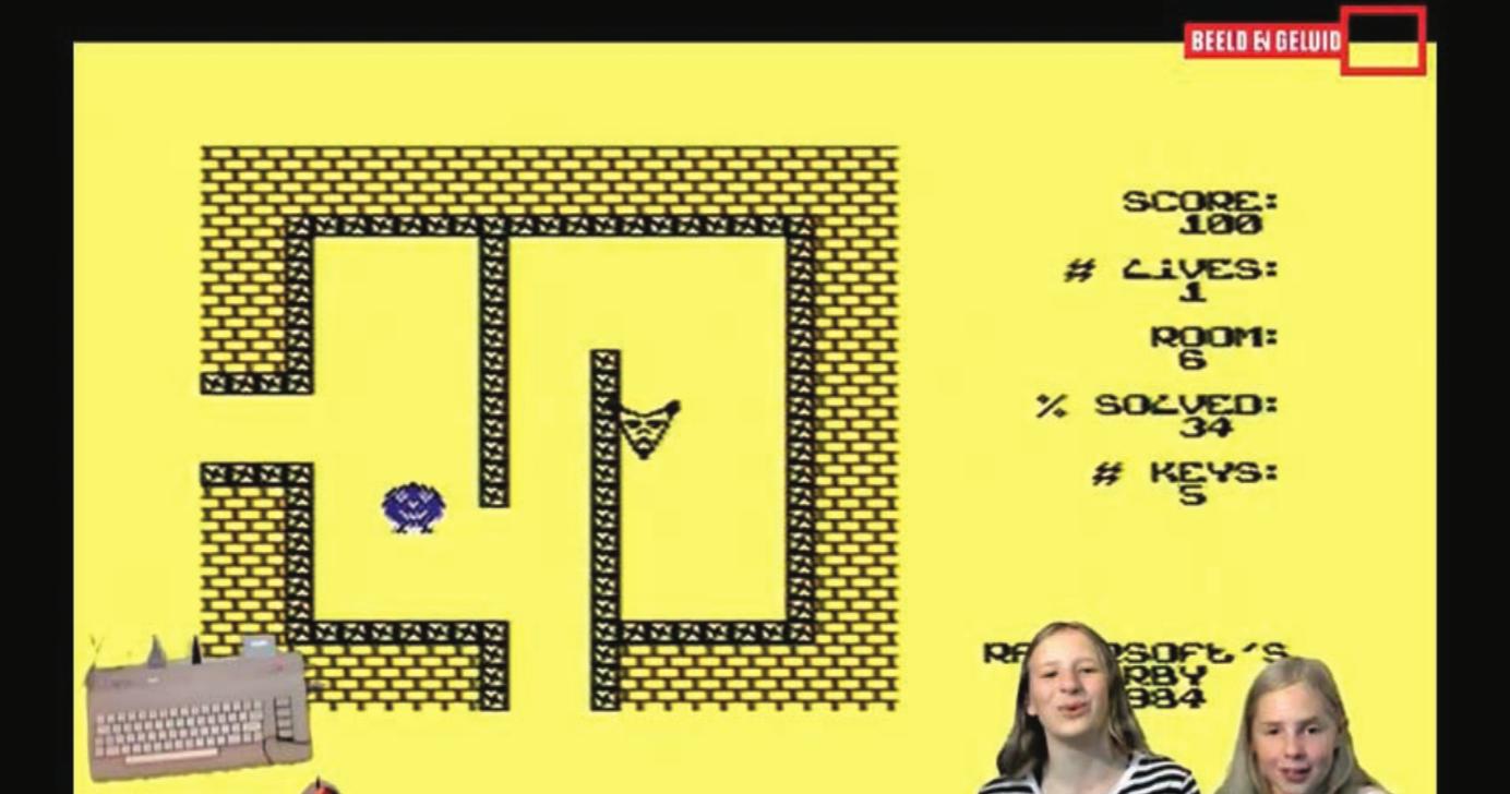 "Screenshot fromYouTube video ""Lets Play test 16 17 Herby,"" Channel Let's Play @ Beeld en Geluid, https://youtu.be/-7OeS1Tc4qM."