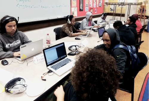 VGA Teen Game Design Program with Chicago Public Library YOUmedia