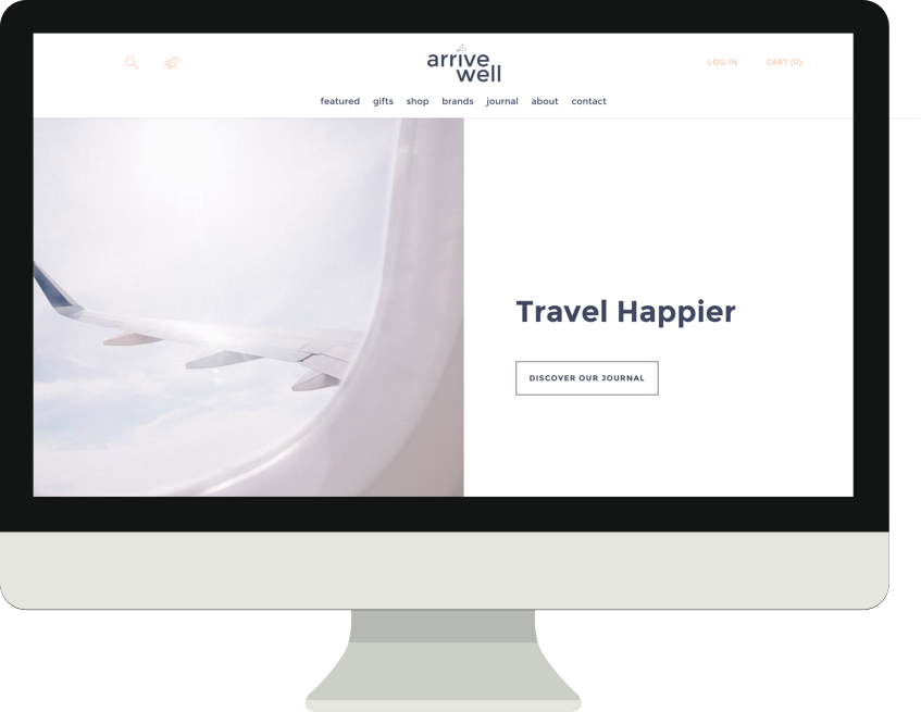 Arrive Well - Ecommerce Store for Travel and WellnessServices Provided: Full Website Design in Shopify, Branding and Imagery, Product Content Management, SEO Optimization, Shopify App Recommendations and Management, Payment and Order Processing and Management.