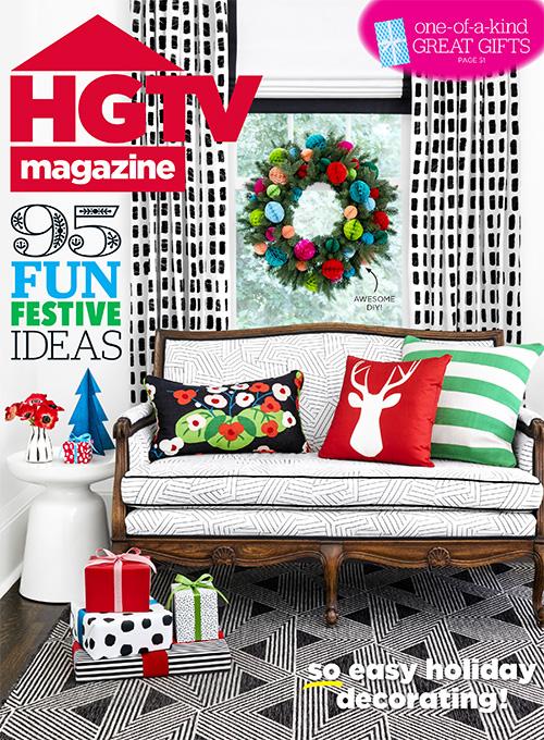 HGTV magazine -