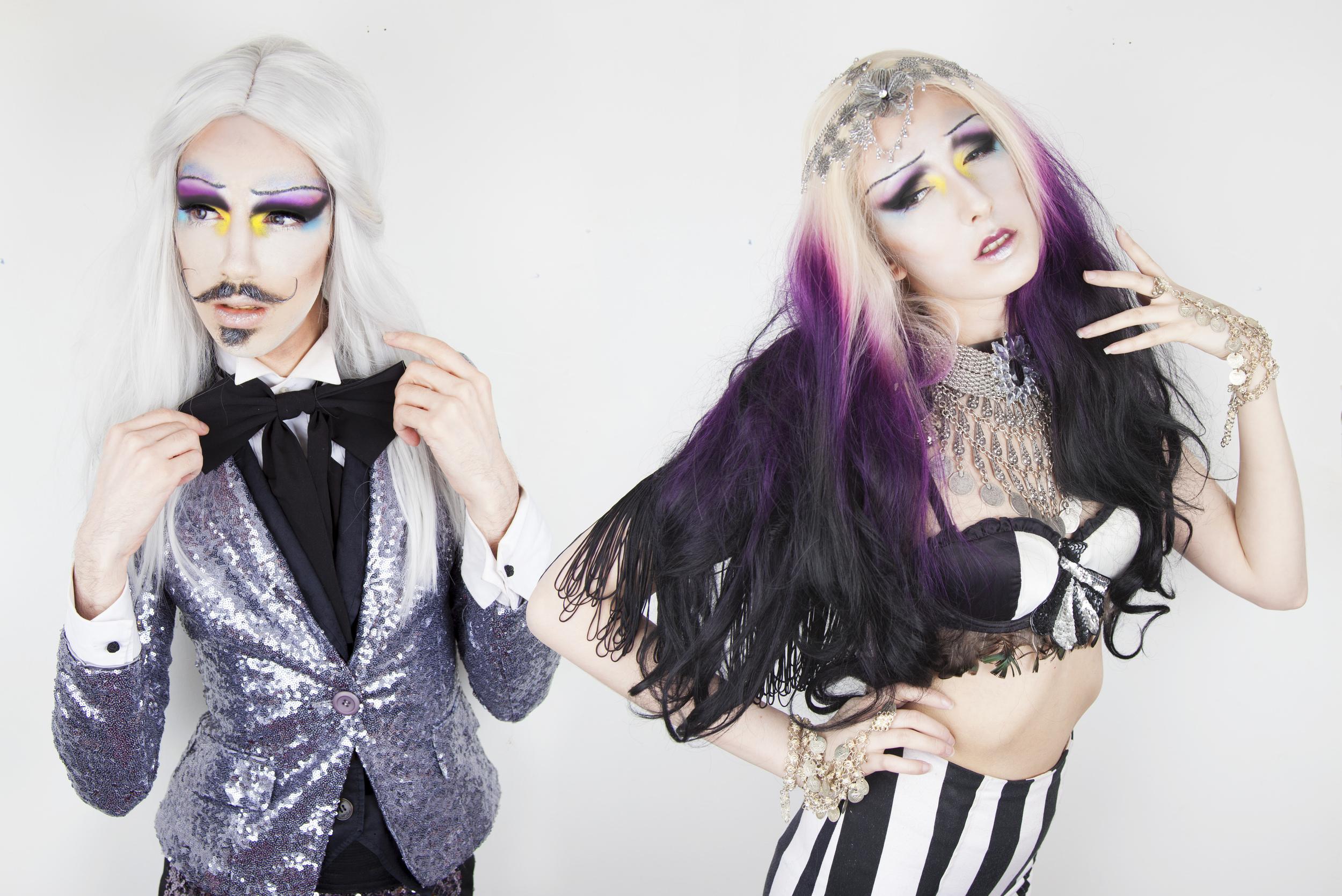 The Roustabouts - DJ Duo of Cabaret & Clubland