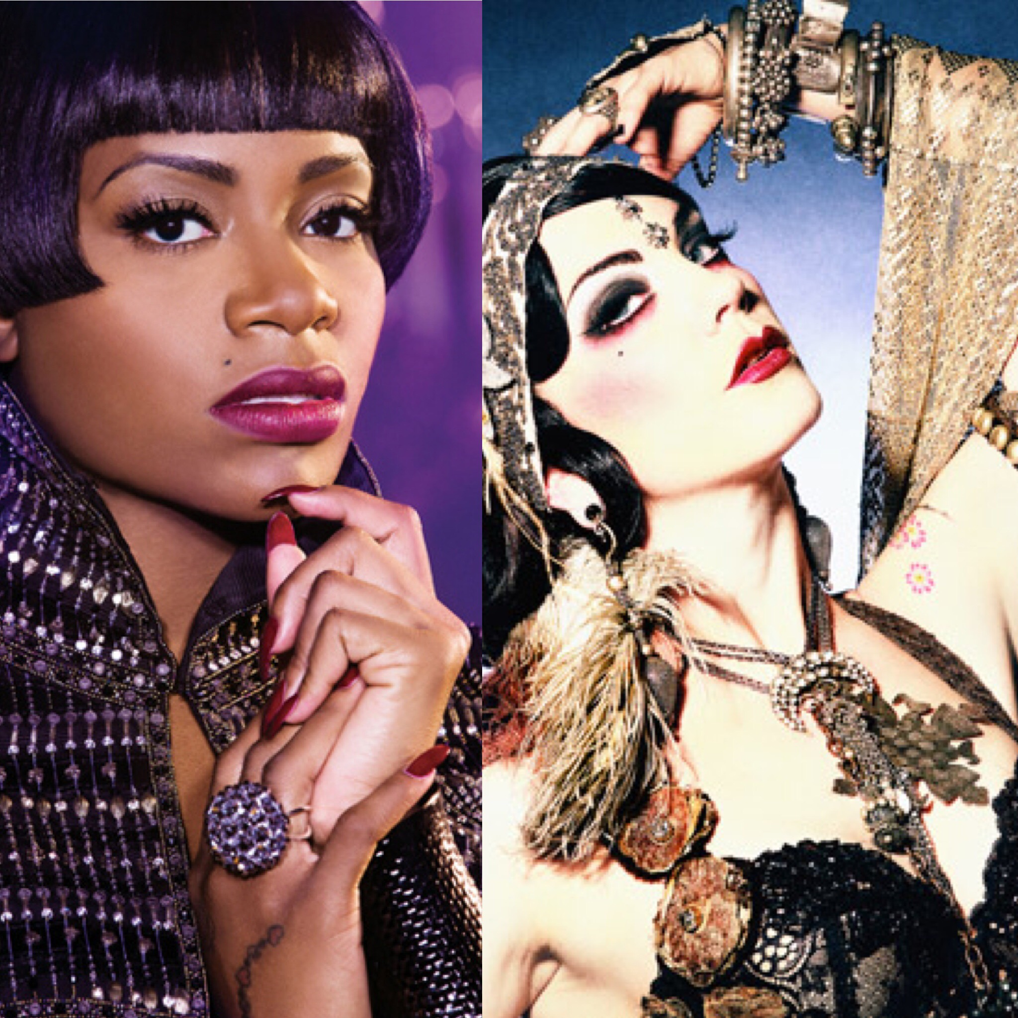Fantasia Fusion - In this new standalone mashup, The Roustabouts pit Fantasia, Kelly Rowland and Missy Elliot against Beats Antique's eclectic electronica fusion. See worlds collide in the video!