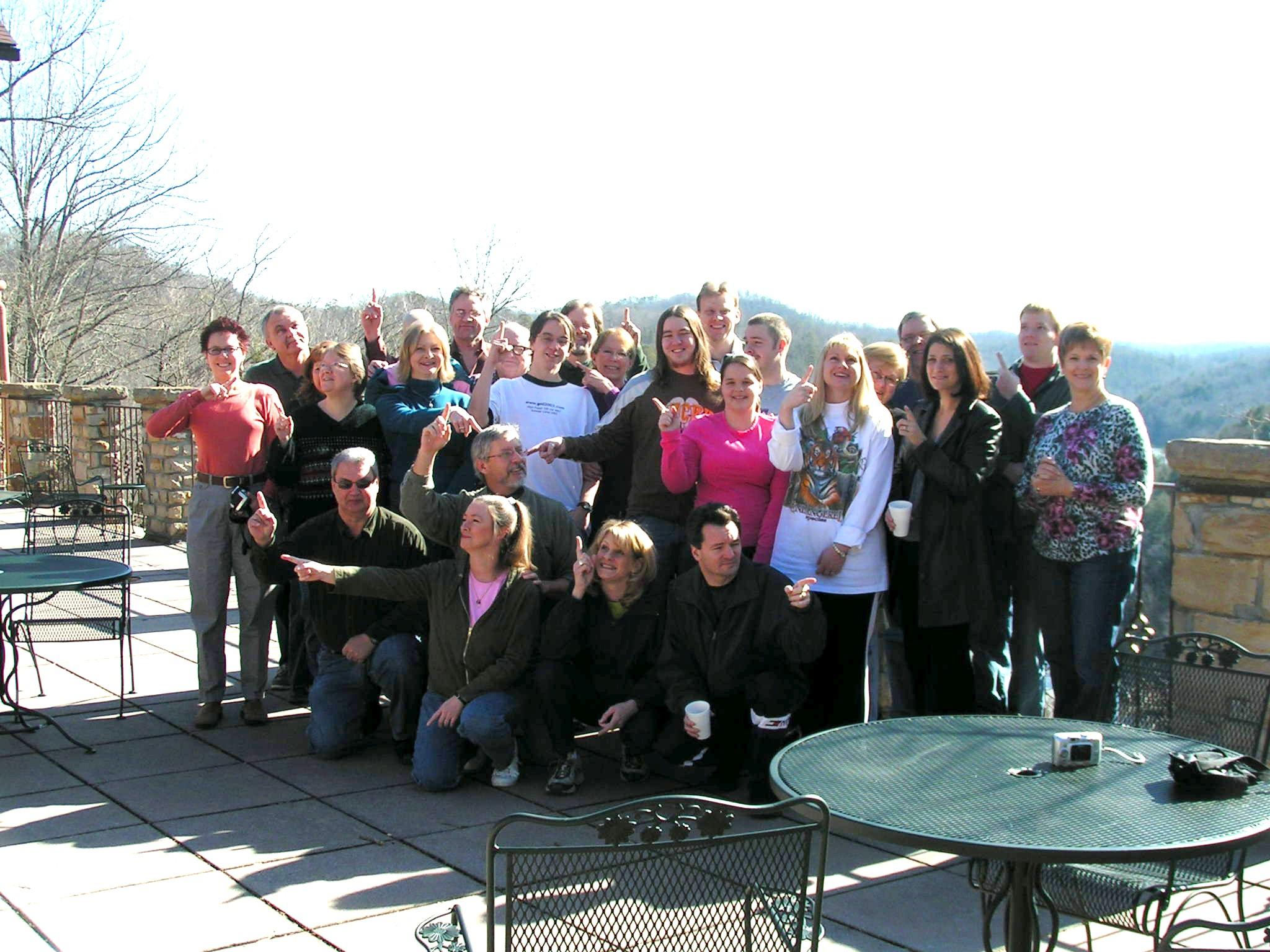 Adult Retreat, February 2010 @ Cumberland Falls State Park