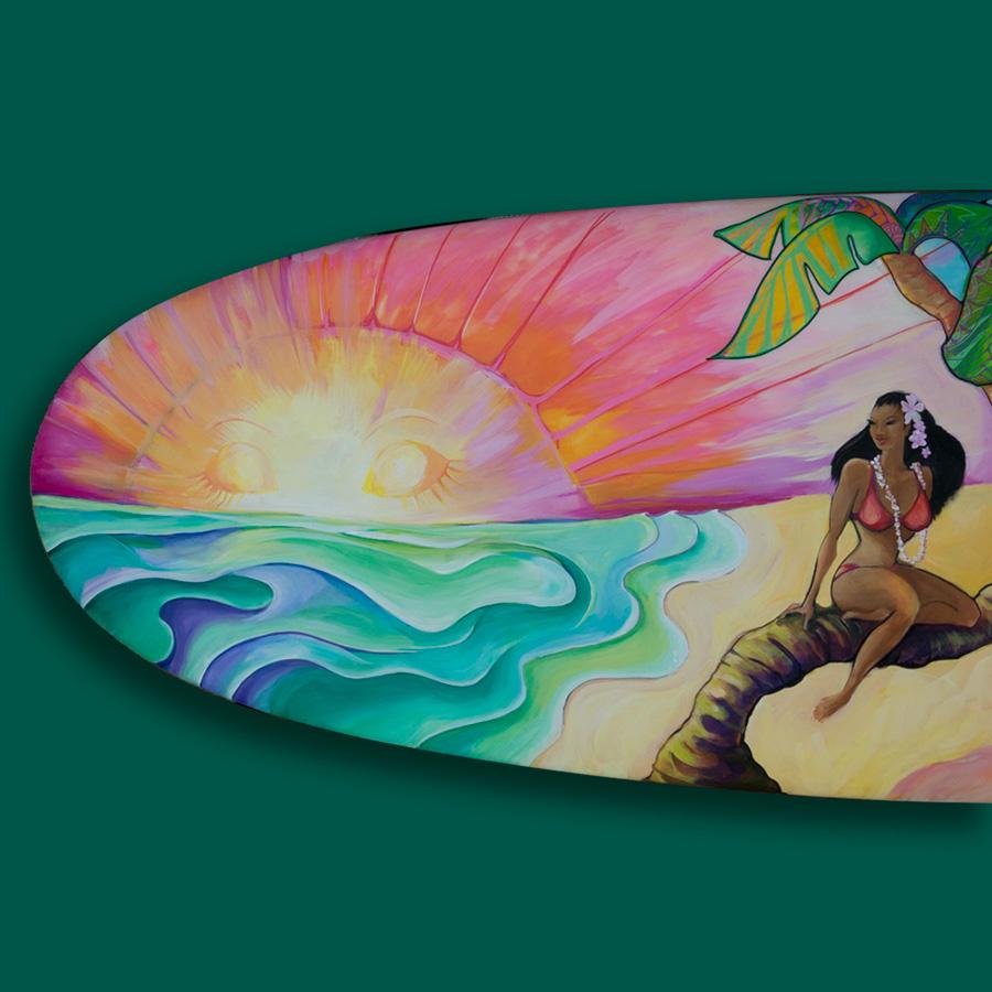 Hula Lula Tail Section 03 - Sale Item $500- Contact