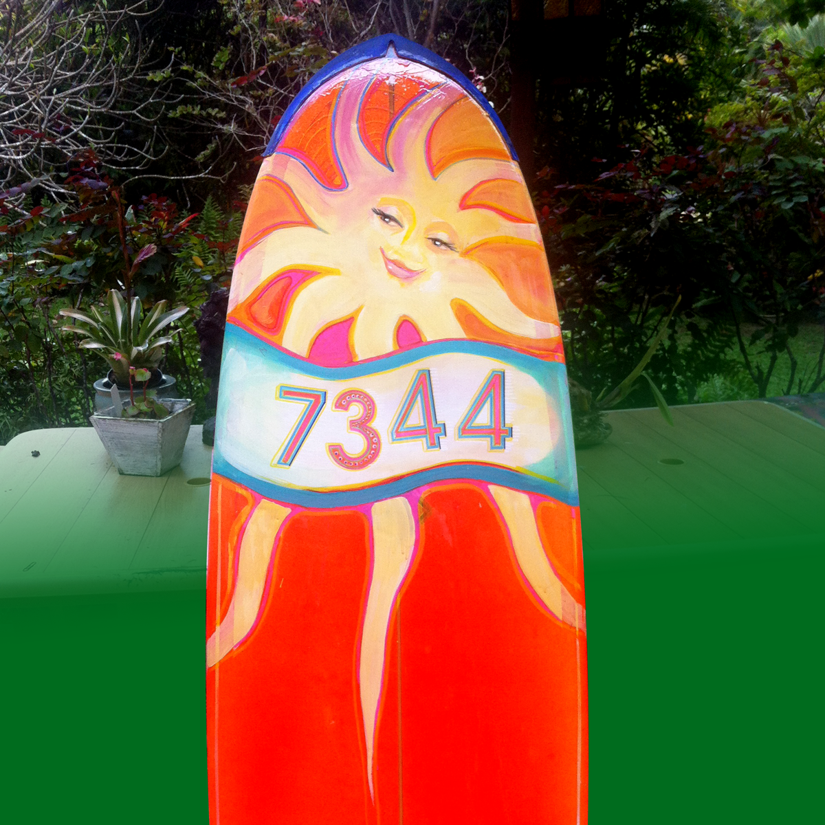 Honey Girl Hanalei brightens your home with tropical sunshine