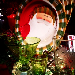 Striking Vietri Old St.Nick are hand made and painted in Italy