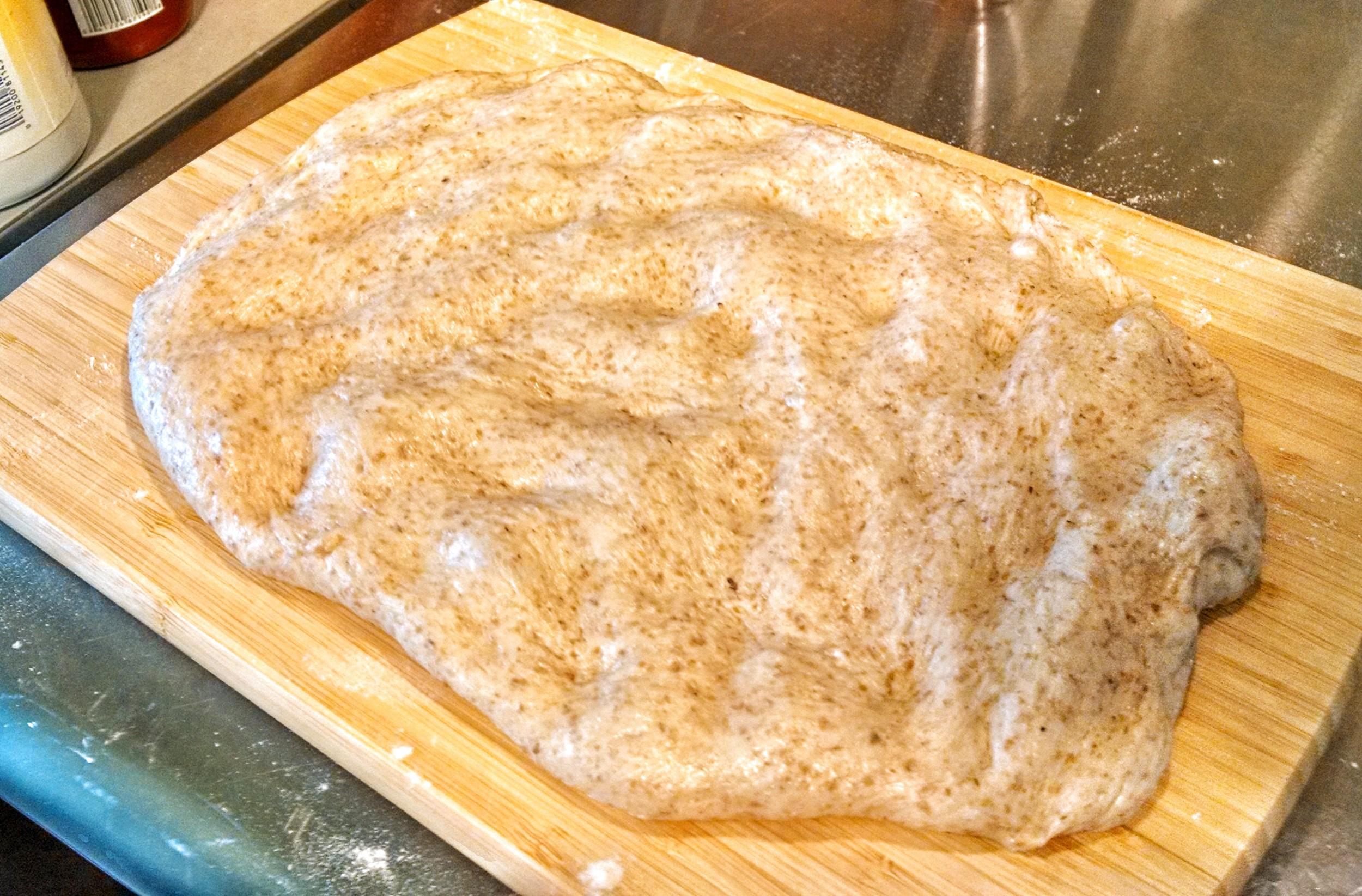 Flattened Dough