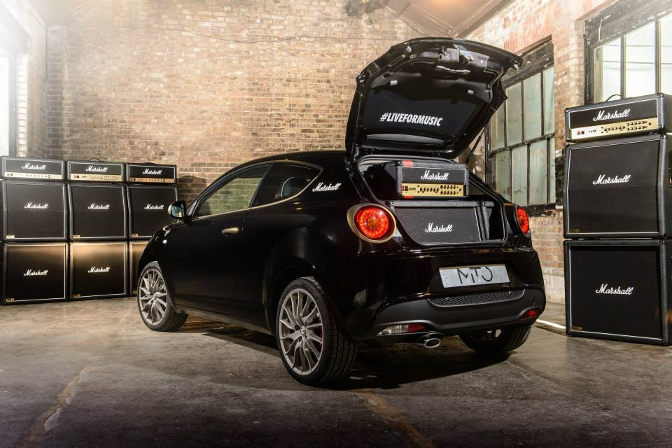 Alfa Romeo MiTo Concept by Marshall Amplification
