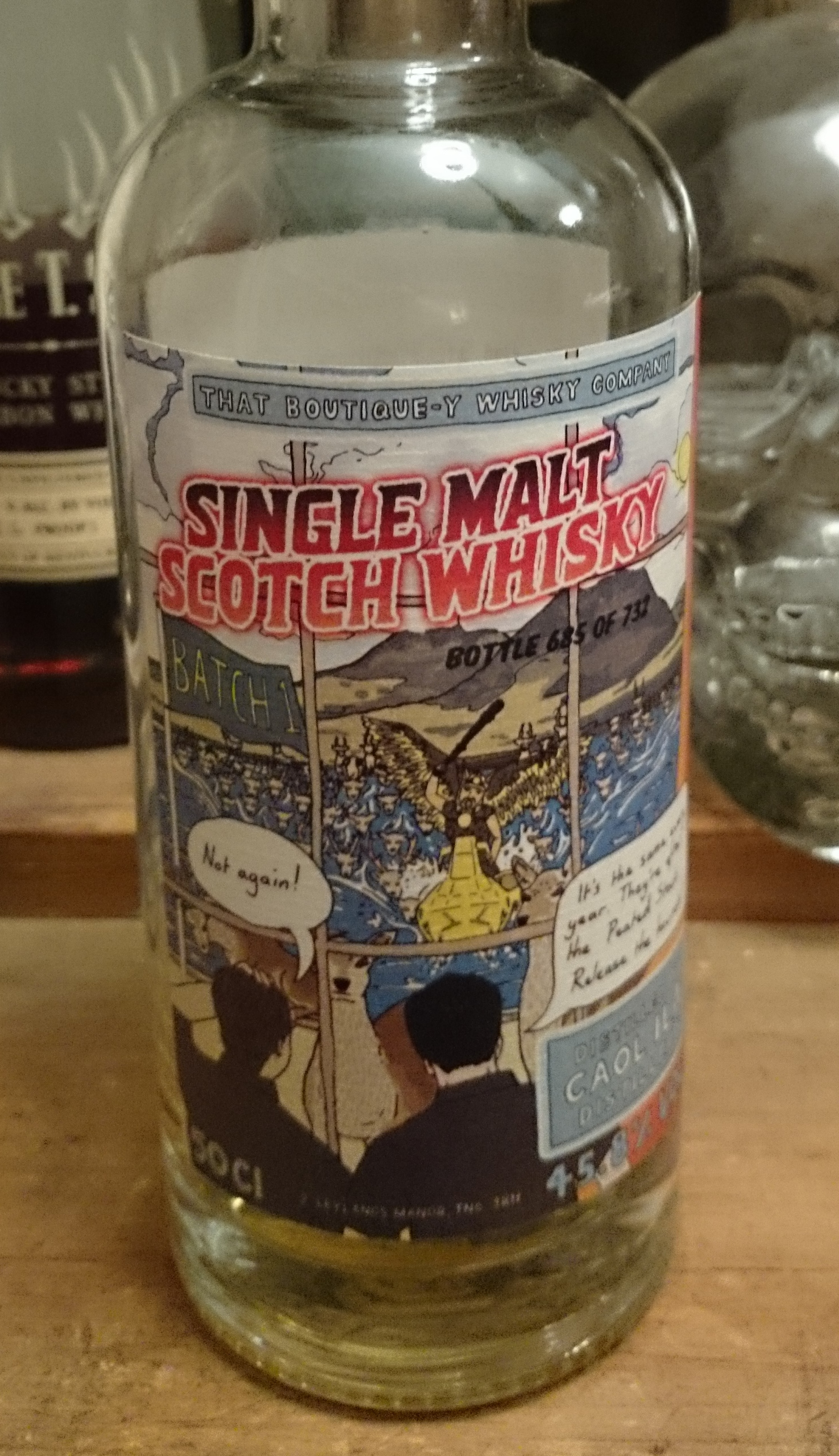 That Boutique-y Whisky Company - Caol Ila Batch 1