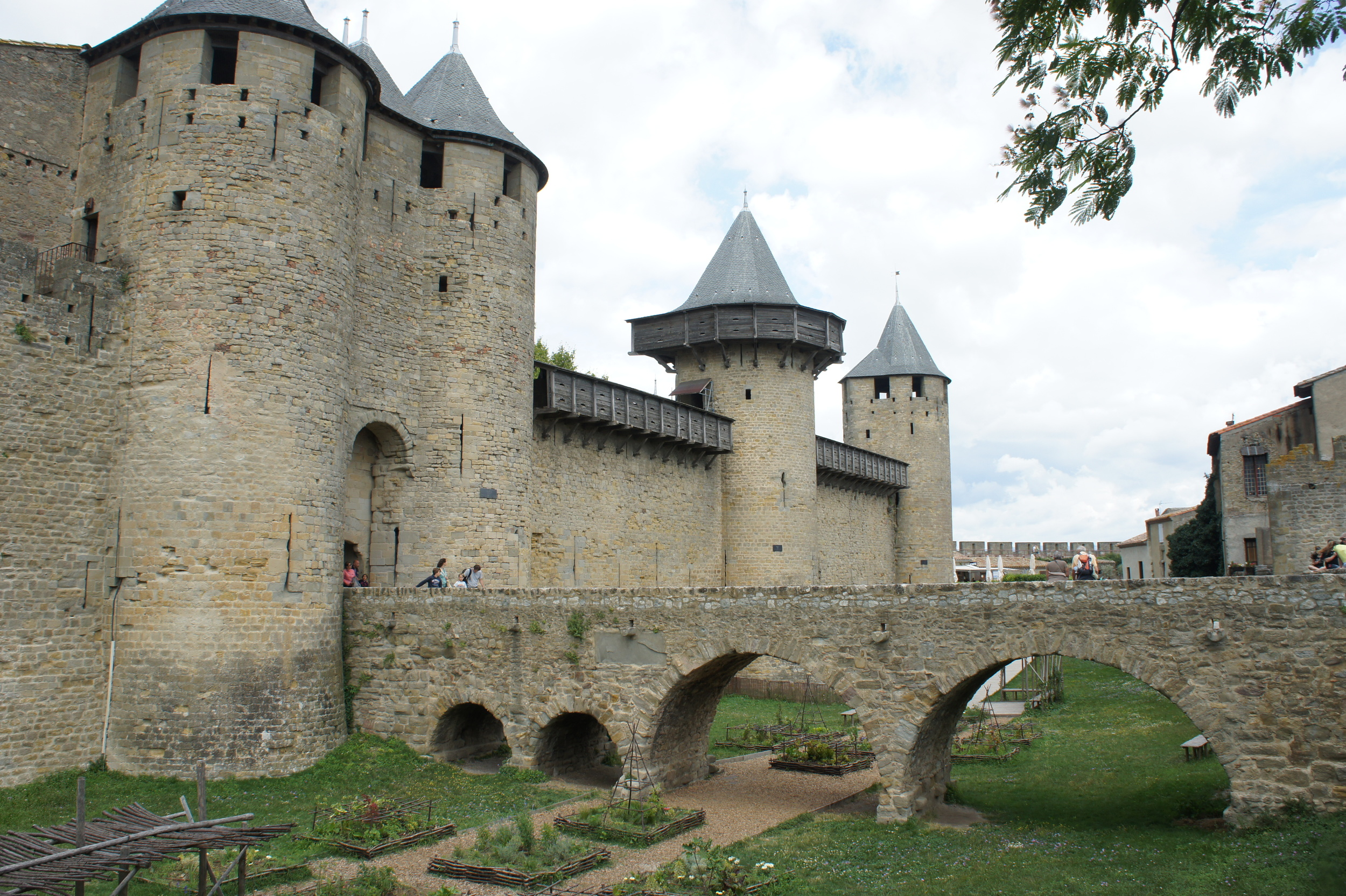 The Inner Fortress of Le Cite Carcassonne
