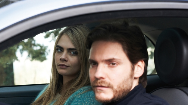 Cara Delevingne and Daniel Bruhl in  The Face Of An Angel