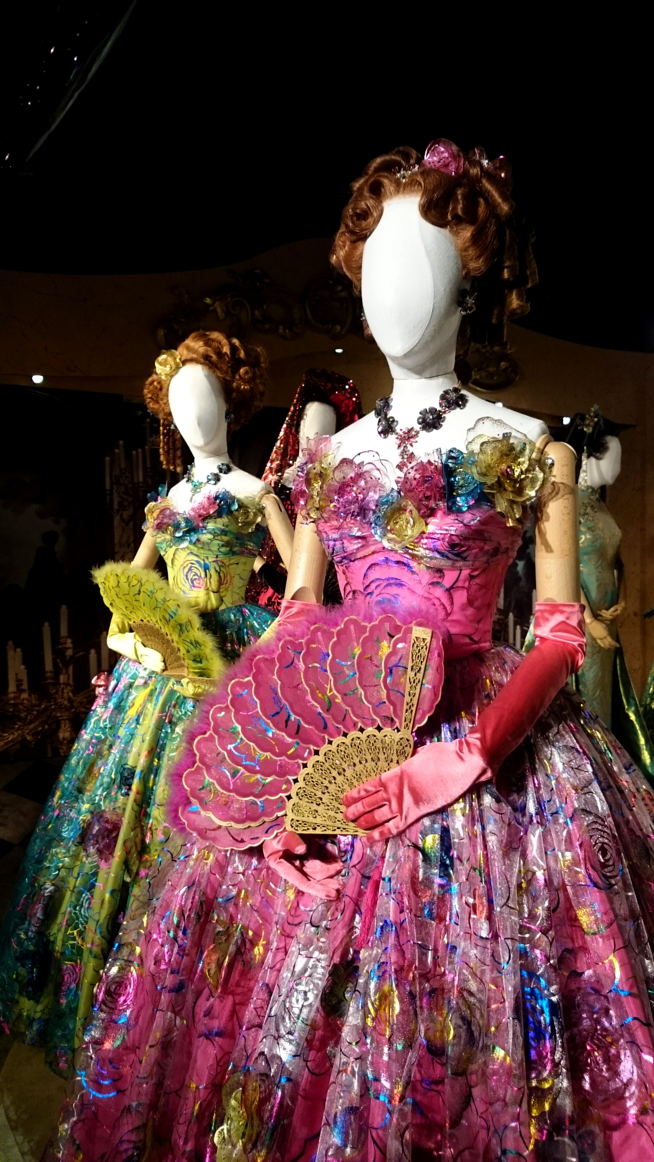 The Ugly Step-Sisters' Ball Gowns