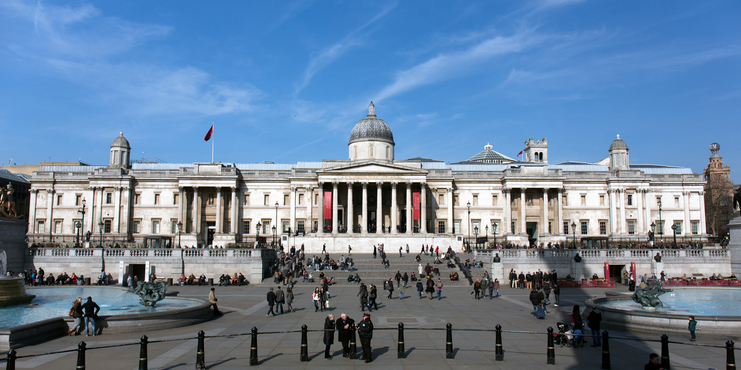 The National Gallery. I'm sure the blue sky was added in post...