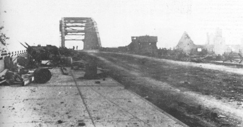 The Arnhem Road Bridge, Sept 20th 1944