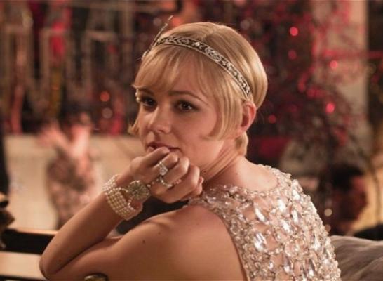 Carey Mulligan in Tiffany & Co. jewelry, in  The Great Gatsby  (2013)