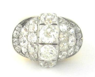 Retro diamond ring, available in our  online shop .