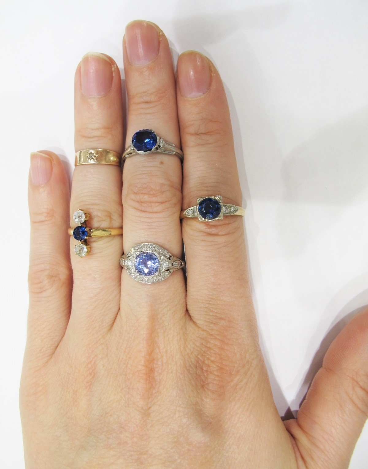 A stunning selection of sapphire rings from the Gray & Davis vault.