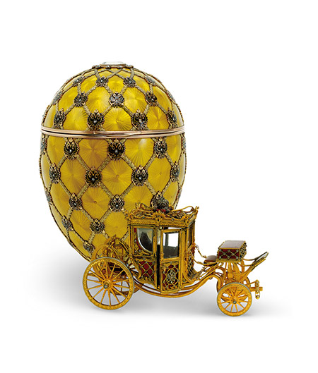 Imperial Coronation Easter Egg, 1897