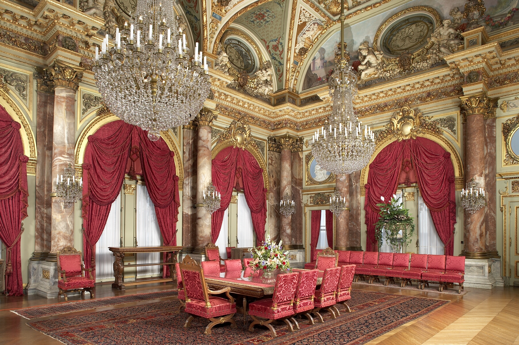 Dining Room in The Breakers.