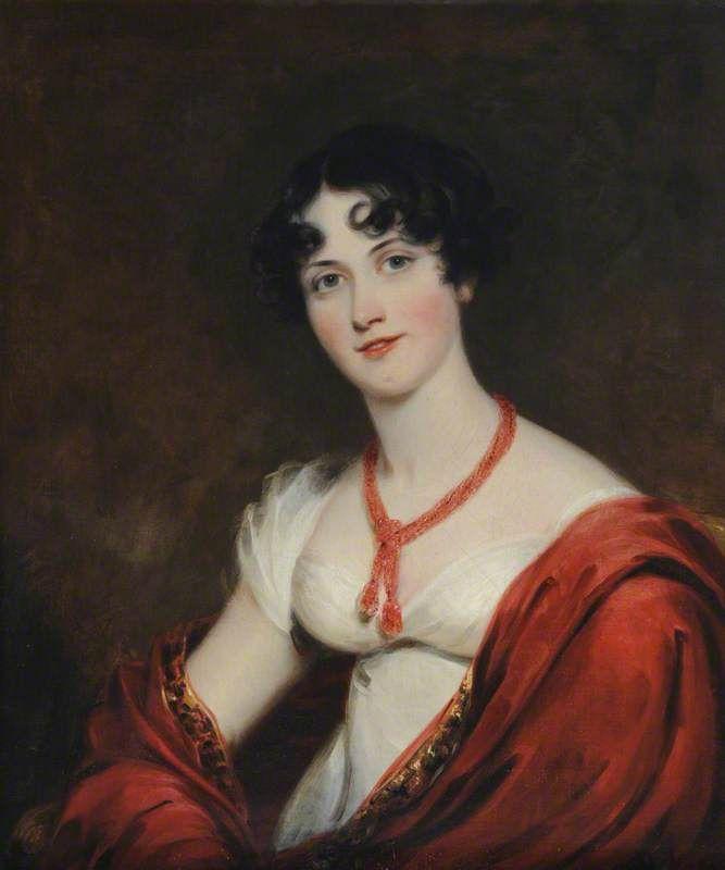 Portrait of Lady Caroline Gordon, Thomas Barber the Elder,c. 1814.