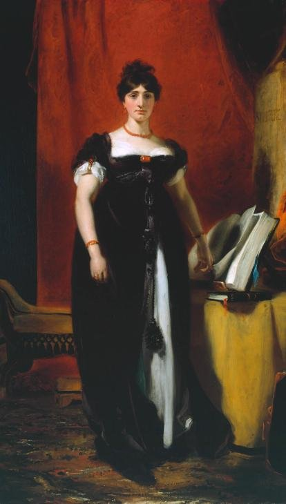 Mrs. Sarah Siddons by Sir Thomas Lawrence.