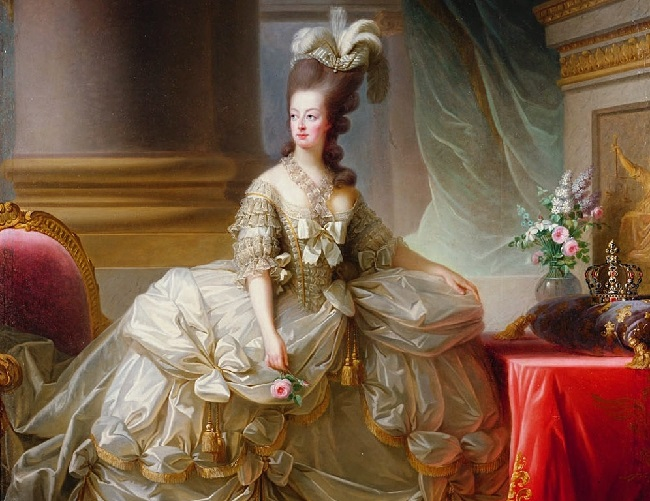 Marie Antoinette, painted by Élisabeth Vigée Le Brun