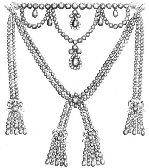 The Necklace, by Parisian jewelers Charles Auguste Boehmer and Paul Bassange.