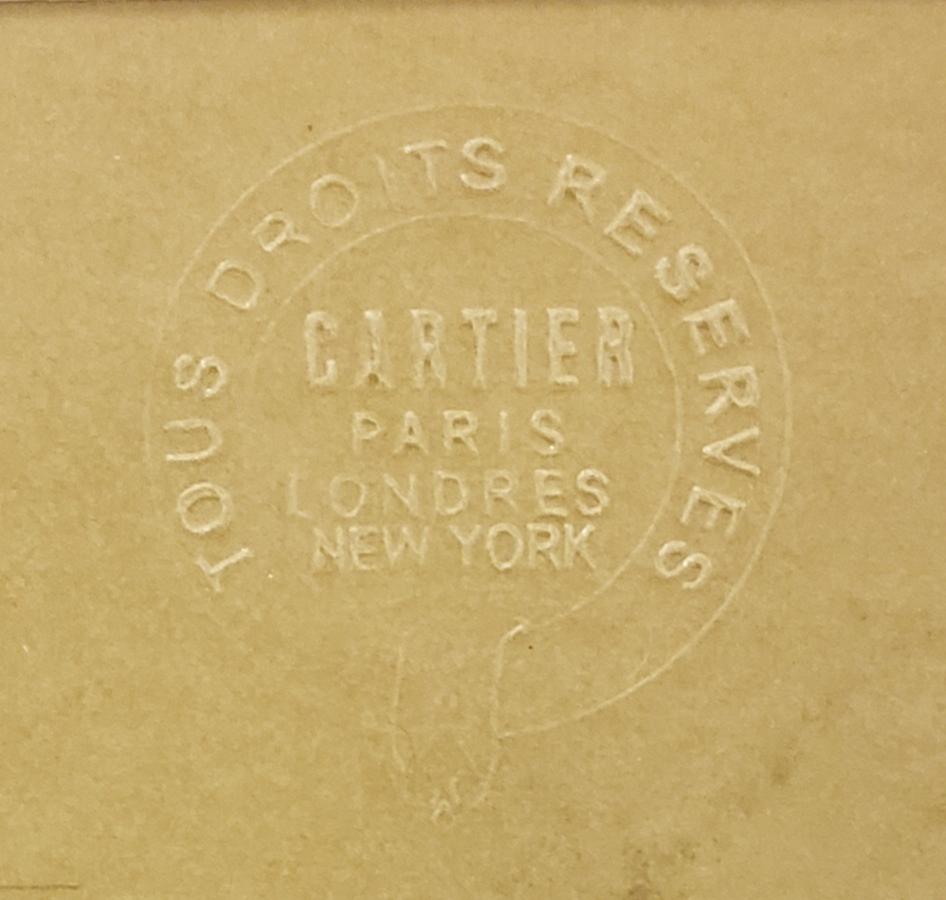 Detail of watermark