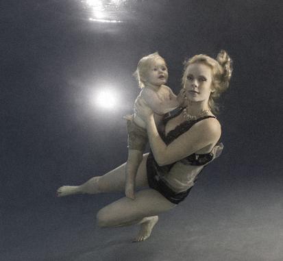 Kelly and her son Henry.Photo by Chiara Salomoni 2014