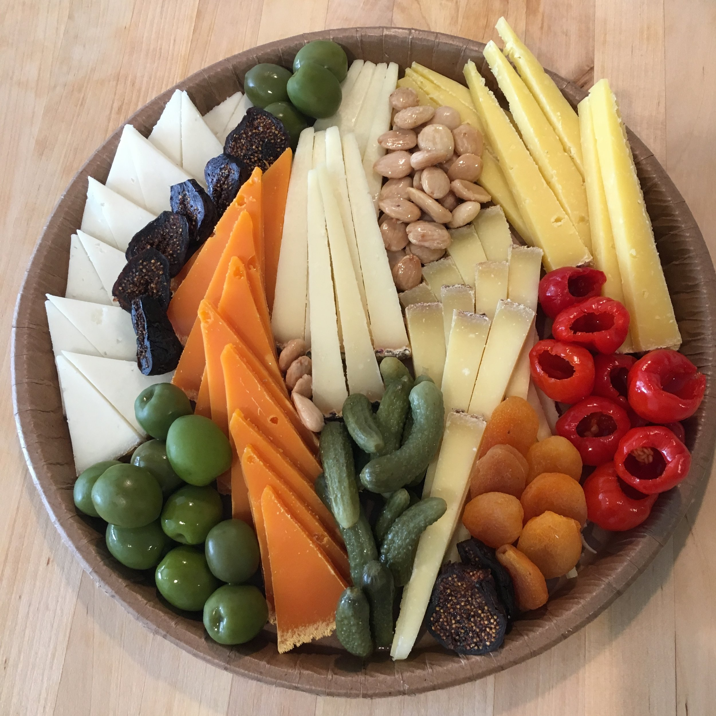 10 person board, all cheese