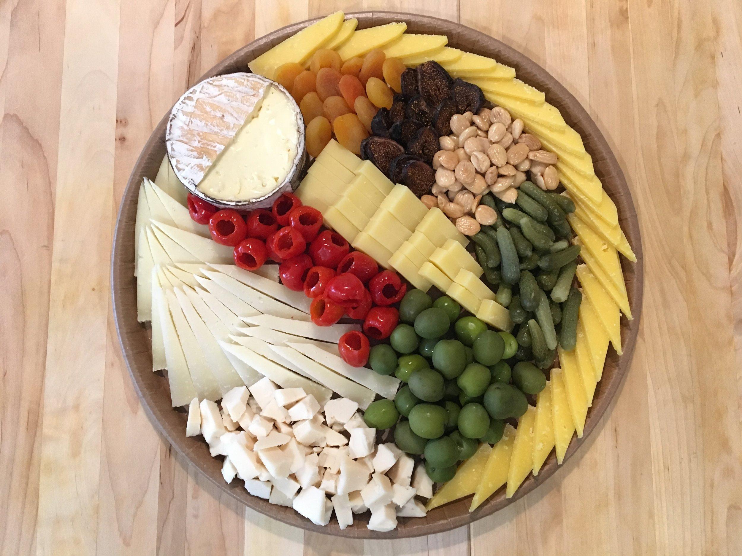 20 person board, all cheese