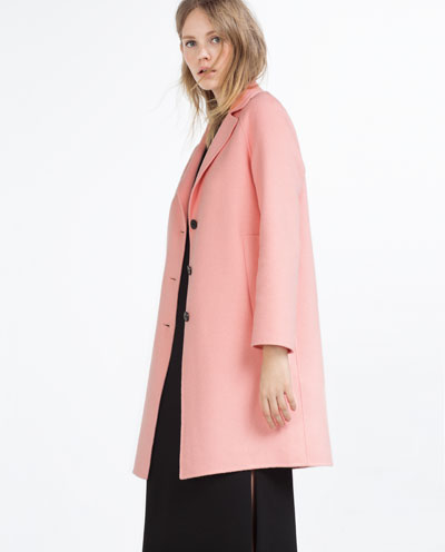 Handmade Long Coat From Zara